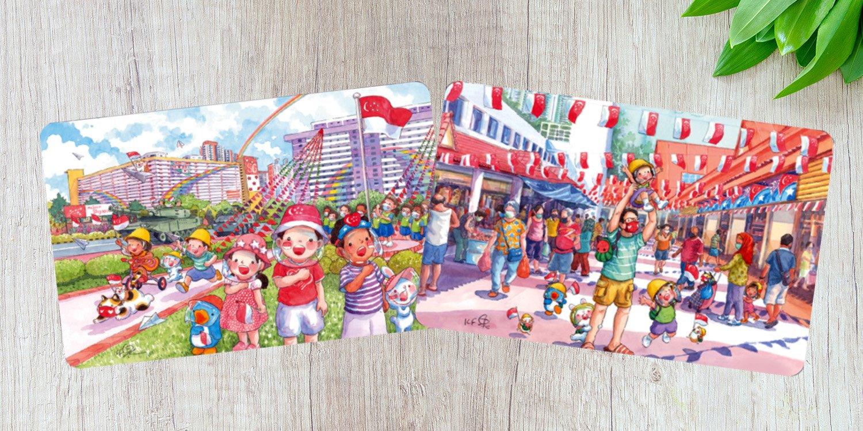 national day ez-link cards