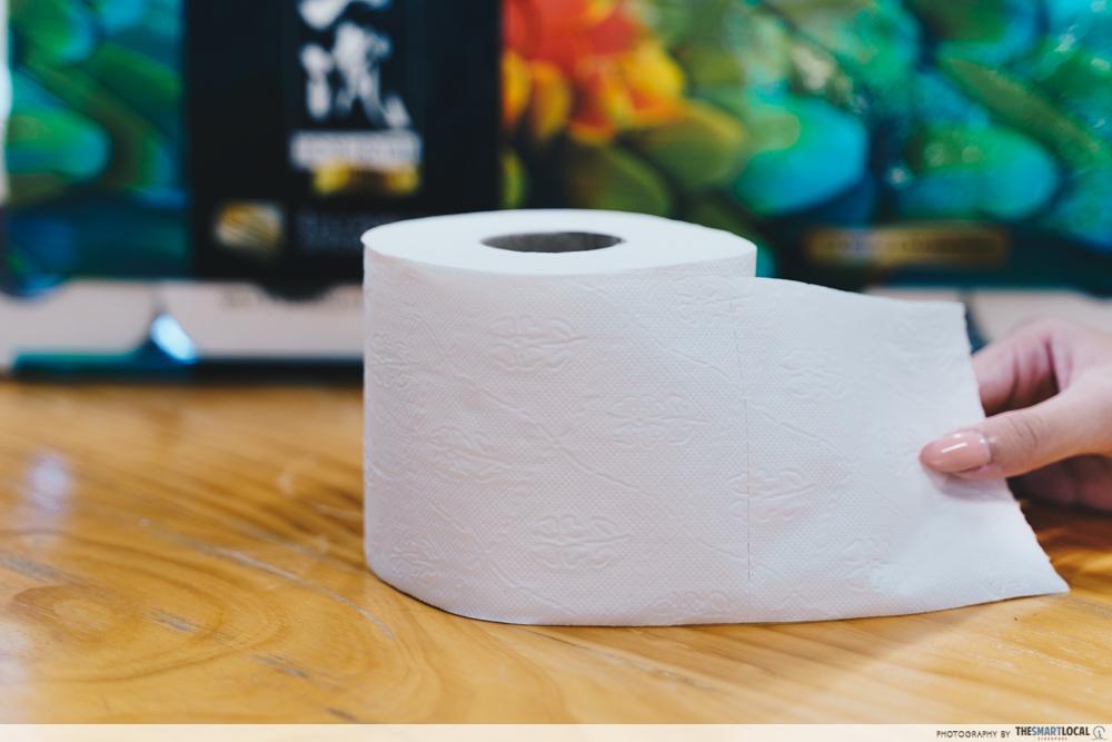 beautex ichiryu 4-ply toilet paper