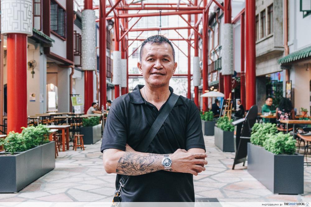 Triad Trails tours around Chinatown