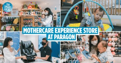Mothercare Singapore Paragon Experience Store