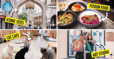 Arab Street: Cat Cafes, Unique Art Studio & Fusion Middle-Eastern Food