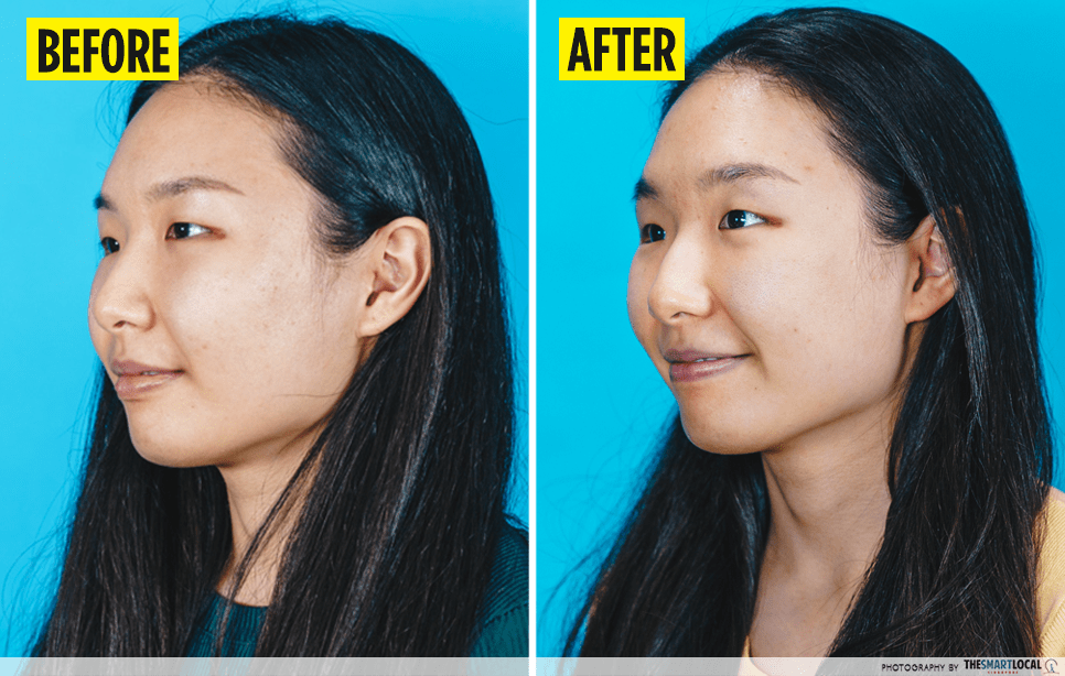 Anti-Ageing Beauty Hacks - Before After Sunscreen