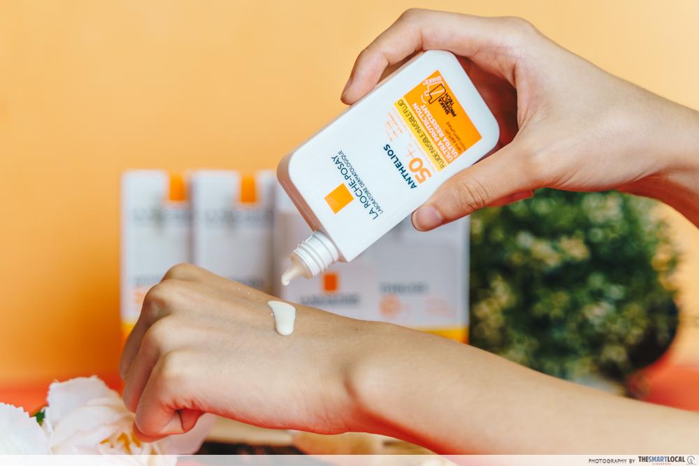La Roche Posay Anthelios Sunscreen Texture