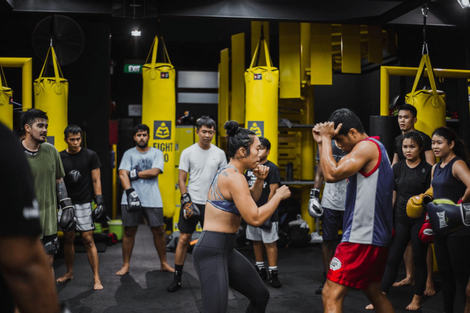 boxing gyms - juggernaut fight club