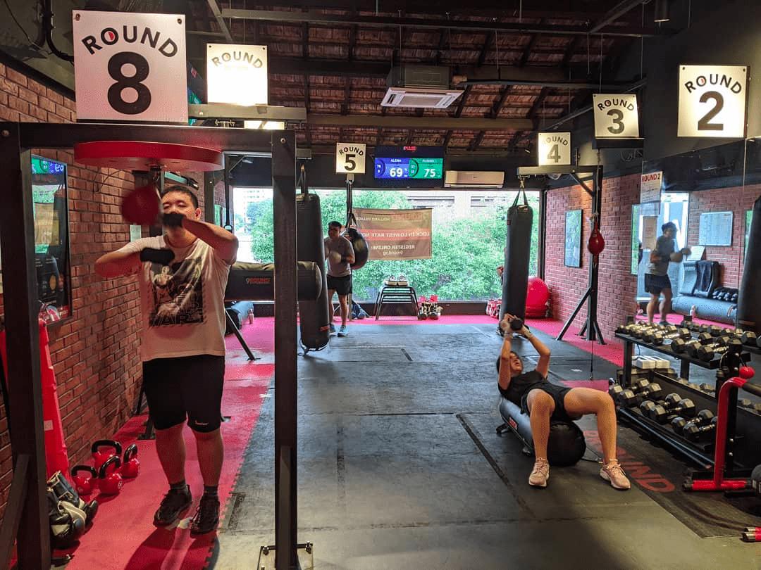 boxing gyms - 9round kickbox