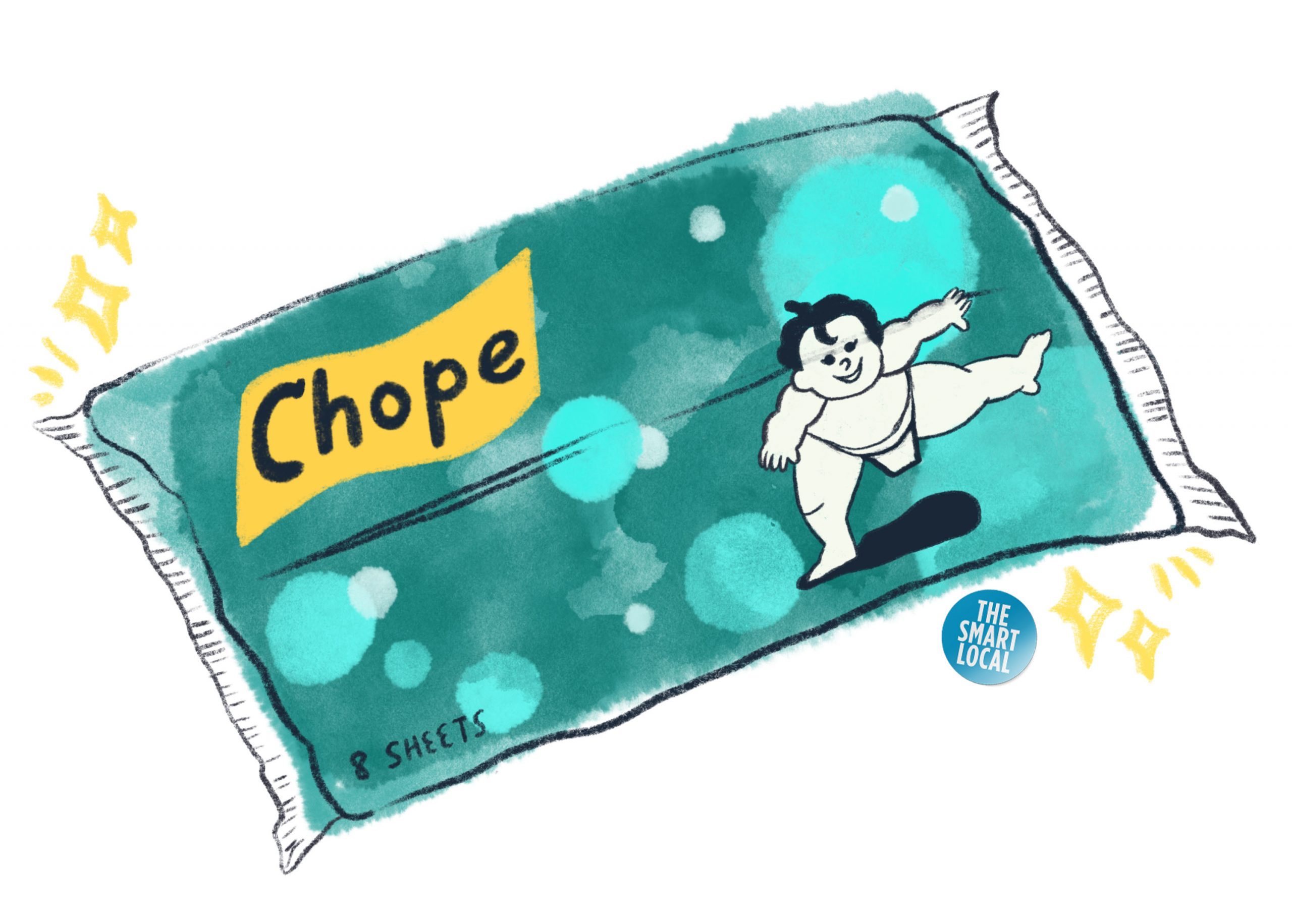 tissue chope