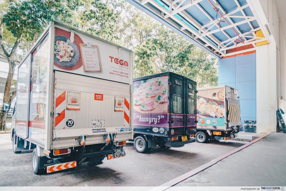 kitchen haus delivery trucks