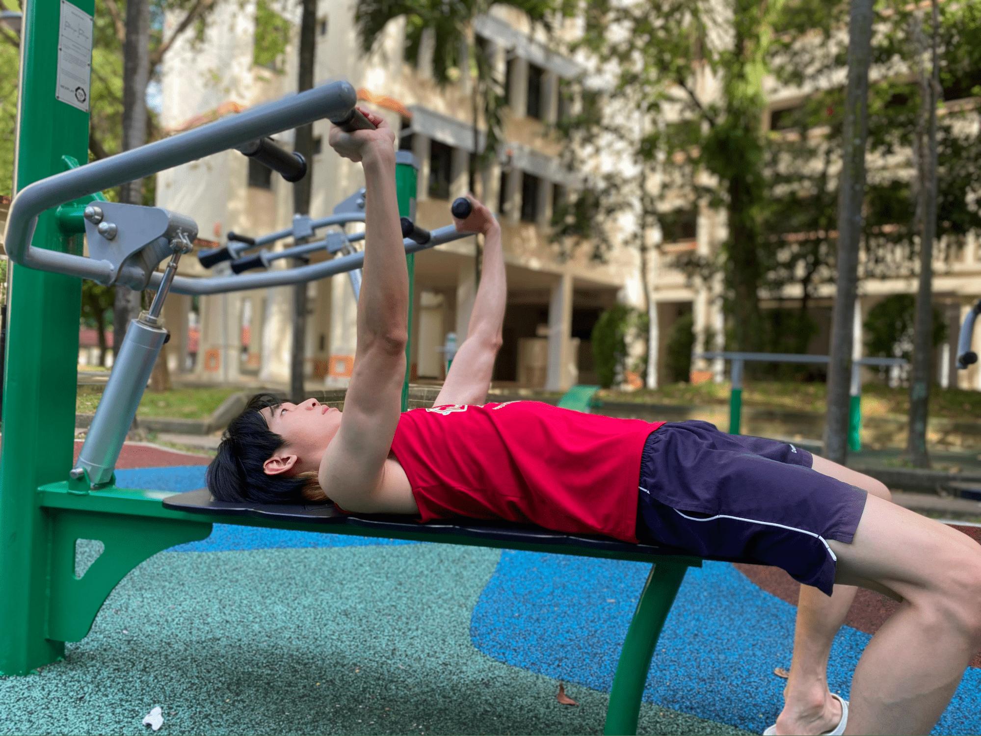 fitness corner - bench press
