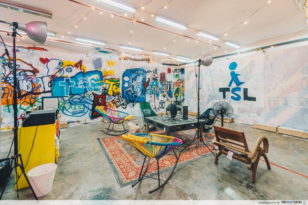 Heaven Spot graffiti studio Singapore
