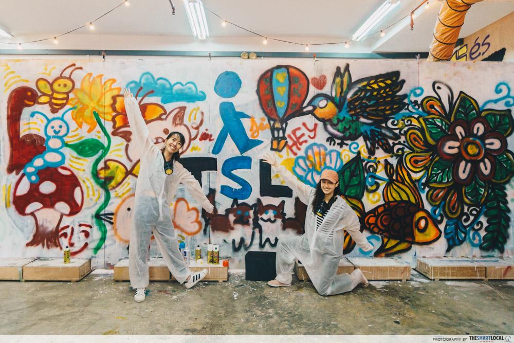 Heaven Spot graffiti studio review