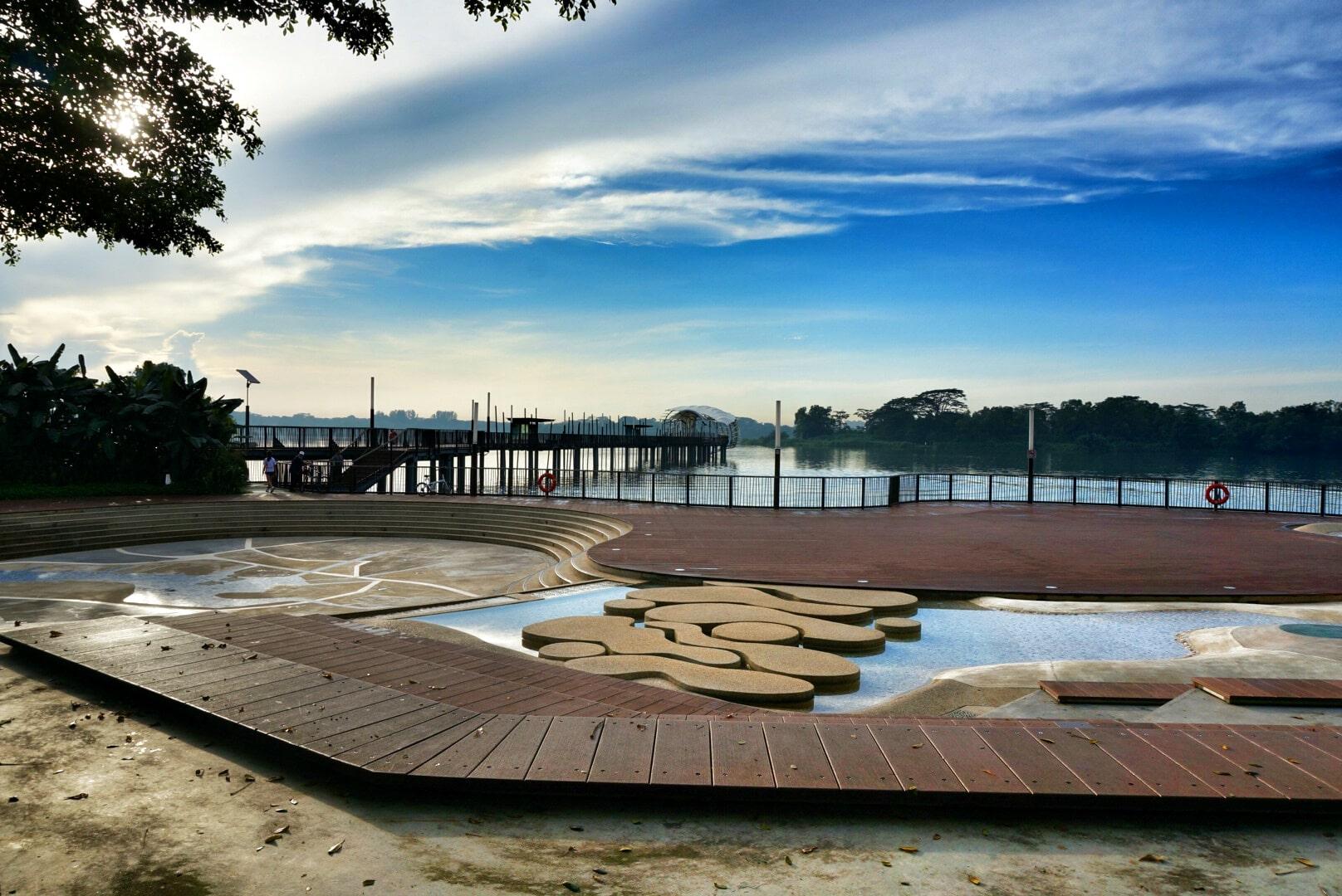 Lower Seletar Reservoir - kids water area