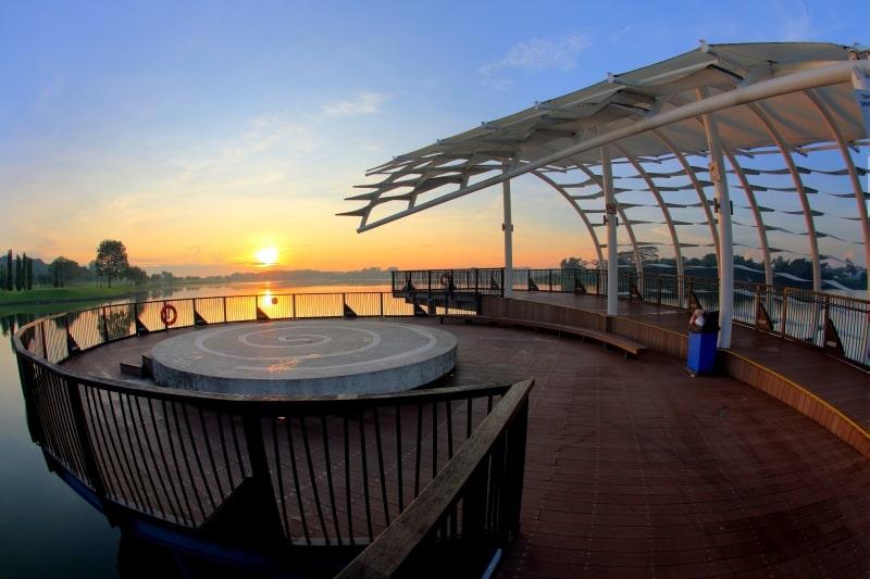 Heritage Bridge viewing deck