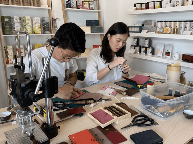 Spark Connections Leather Crafting Workshop