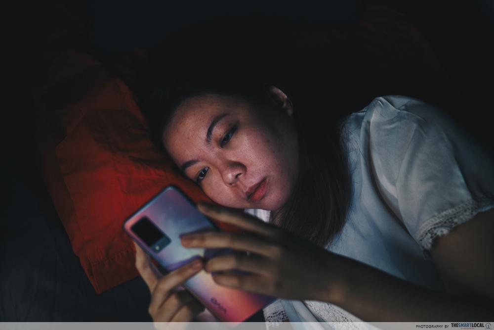 Staying Up Late (2) - vivo v21 5G, anxiety at night