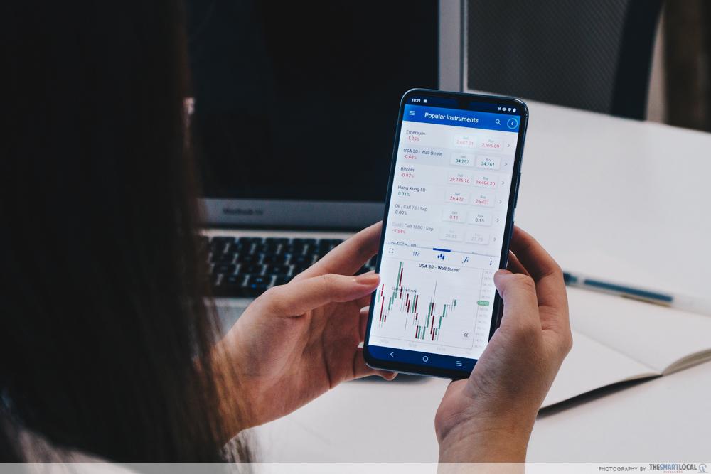 Staying Up Late (4) - vivo v21 5G, trading US stock market