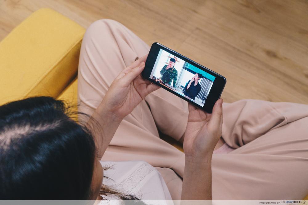 Staying Up Late (5) - vivo v21 5G, watching Korean dramas