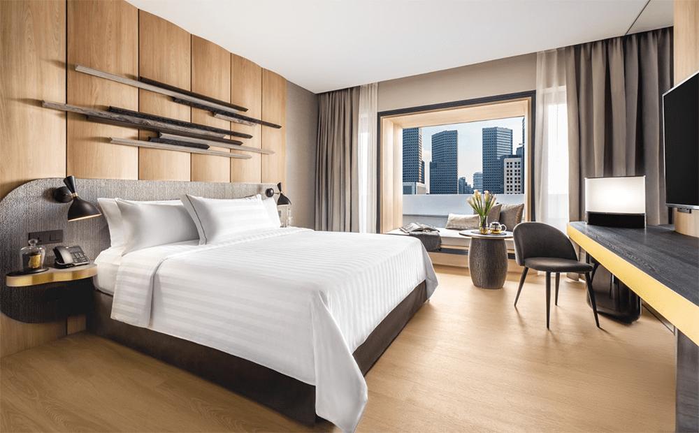 Pan Pacific Hotel Bedroom