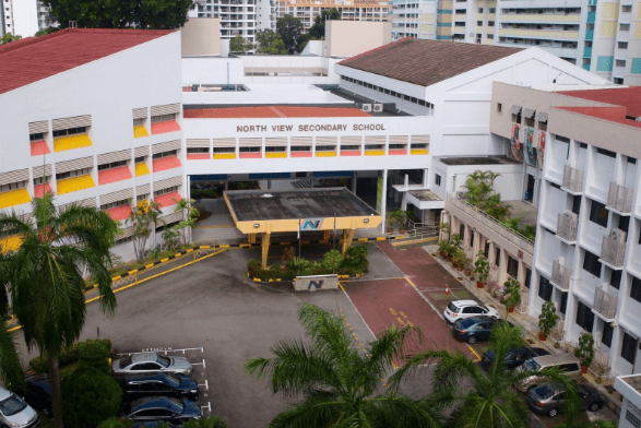 upper thomson secondary - north view secondary