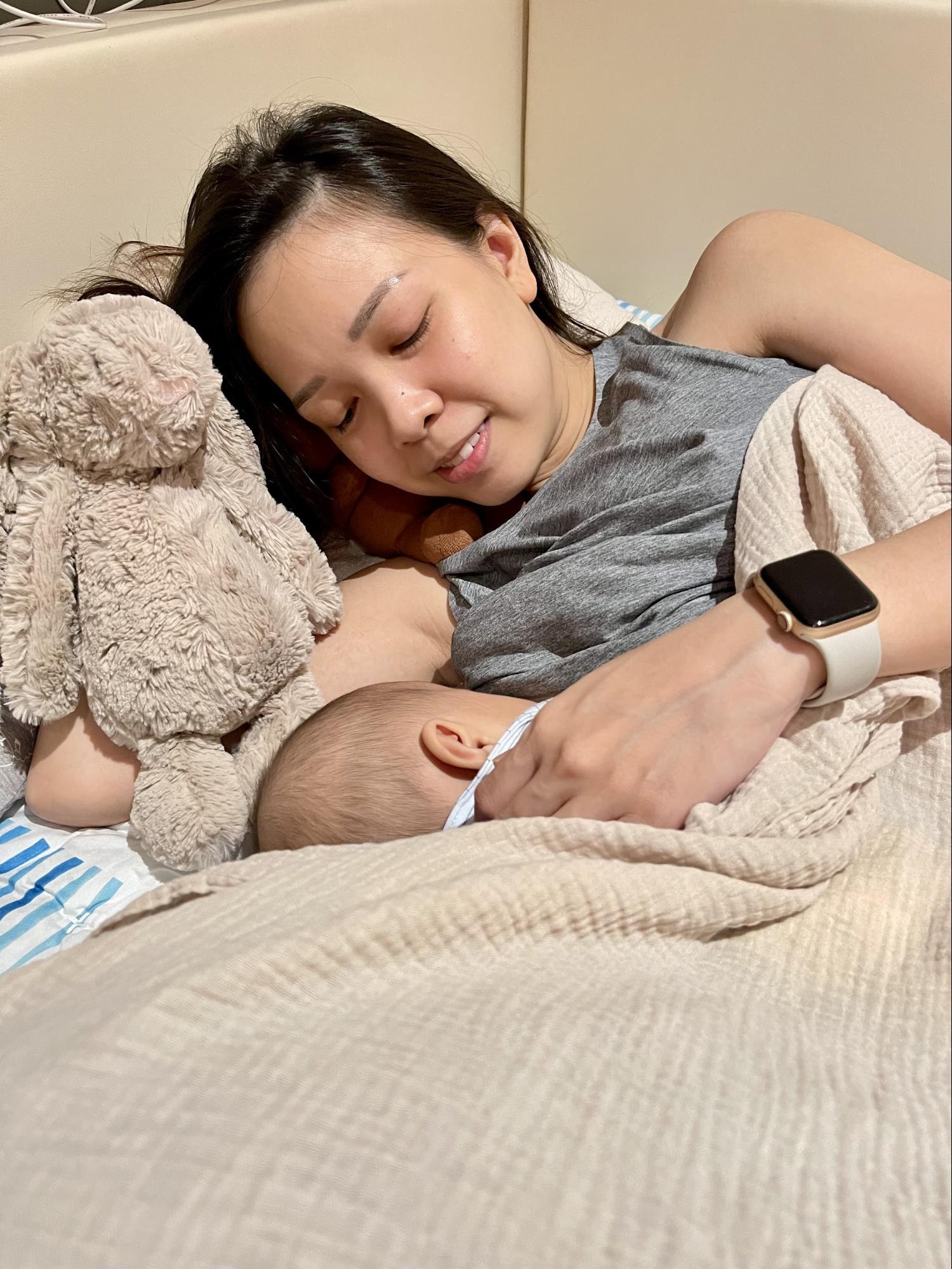breastfeeding singapore - Latch and pump