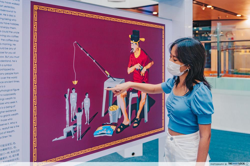 chinatown point mooncake fair 2021 mythology exhibition
