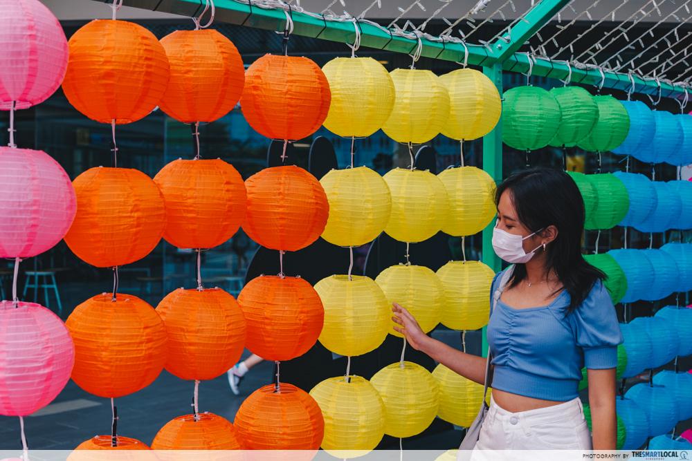 laterns chinatown point mooncake fair 2021