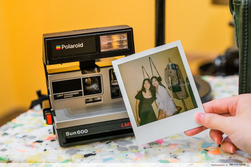 Vintage Polaroid Photography