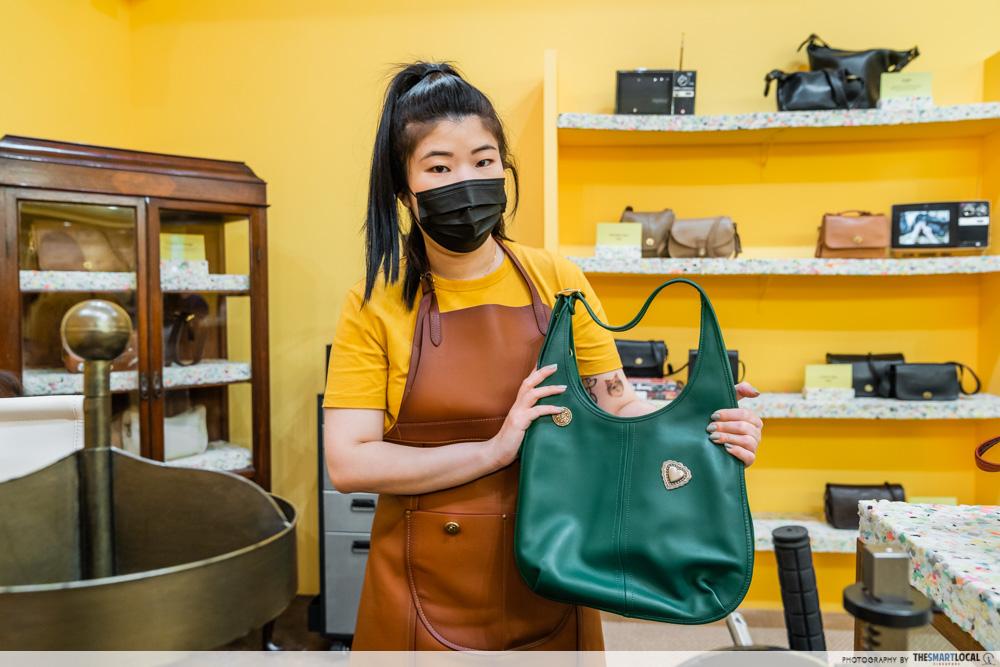 Coach Leather Craftsman Bag Customisation