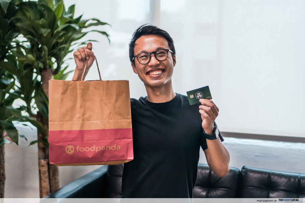 cryptocurrency in singapore - food delivery