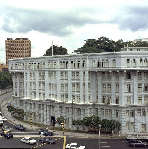 Old Hill Street Police Station, 1991