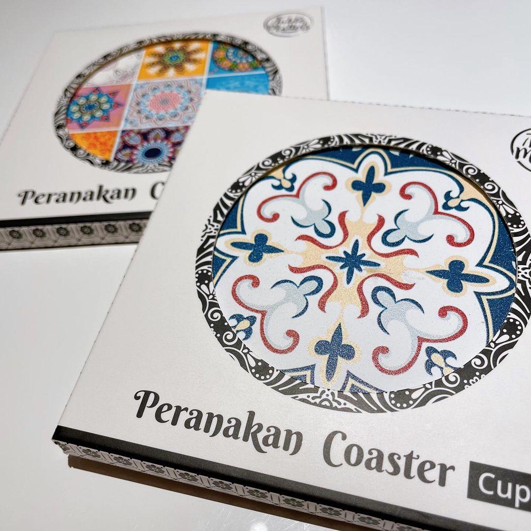 Peranakan coasters