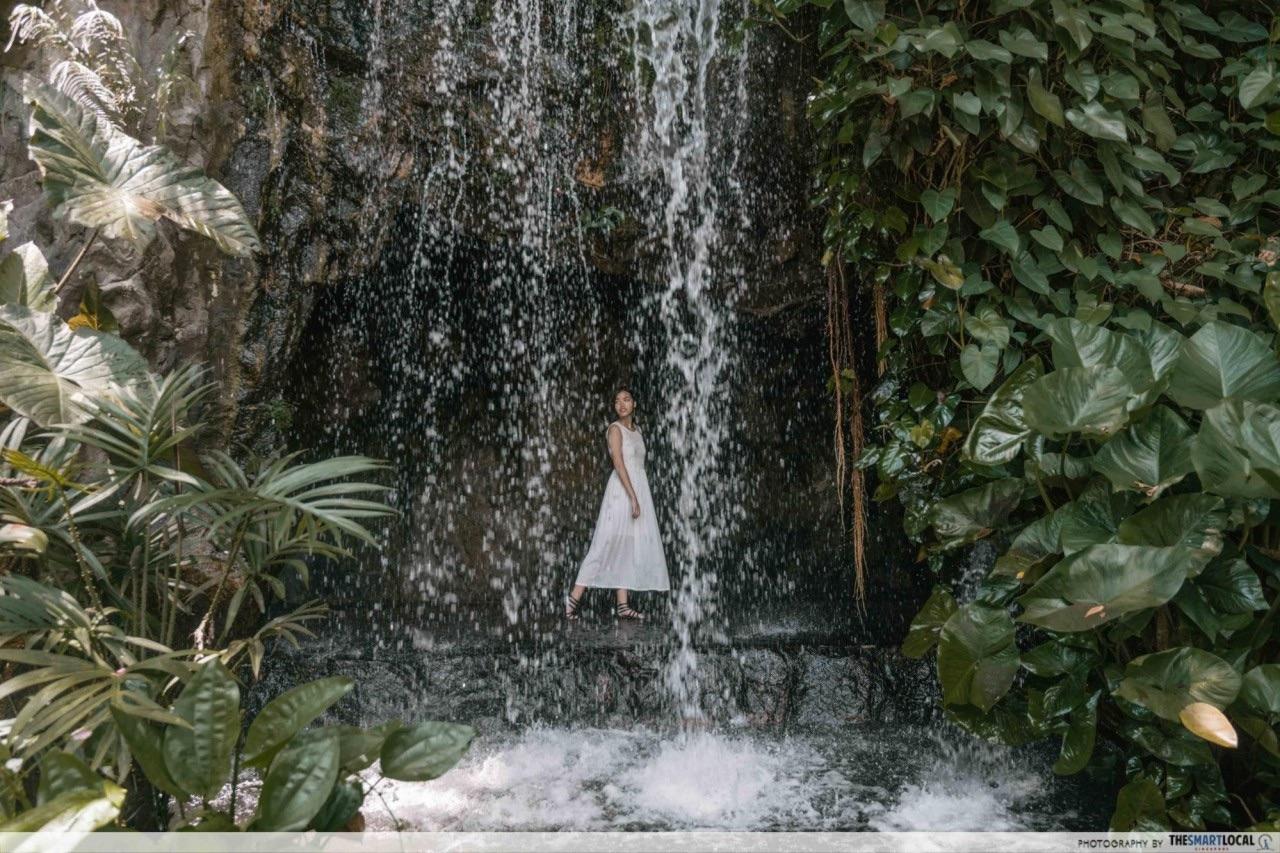 Ginger Gardens Waterfall