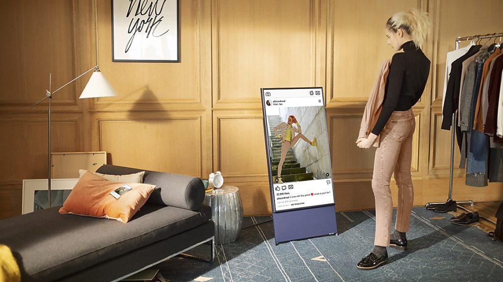 innovative home appliances - Samsung Sero