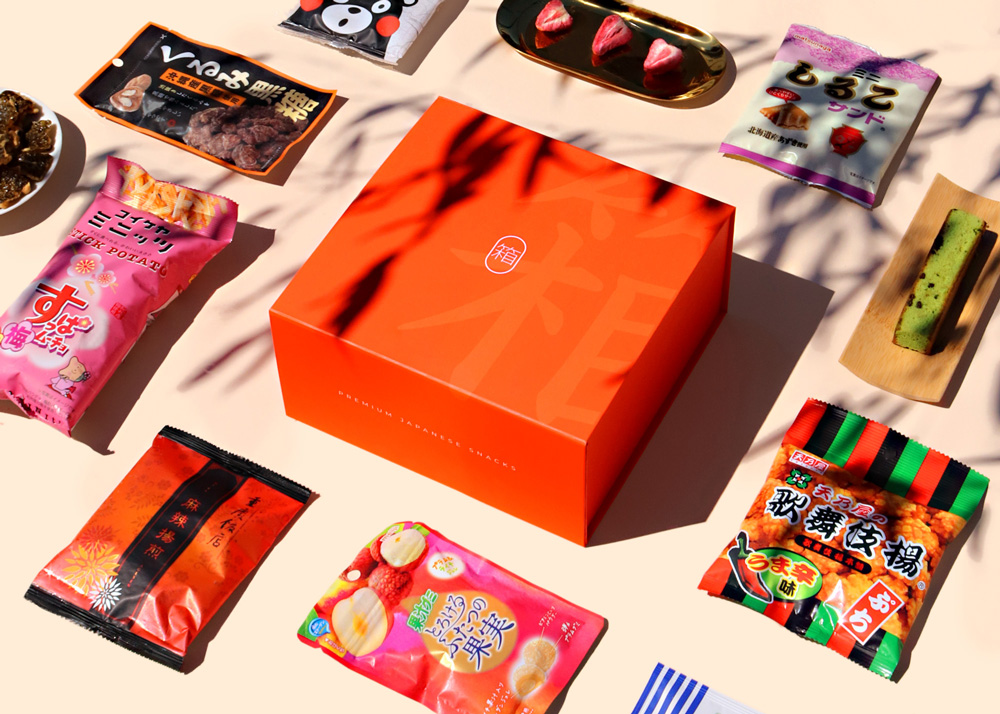 japanaese snacks gifts for long distance relationships