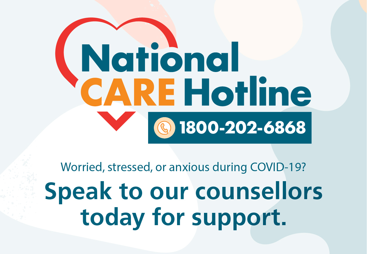 mental health services and hotlines - national care hotline
