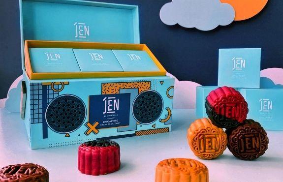 Mooncake Boxes 2021 to Repurpose - Hotel JEN