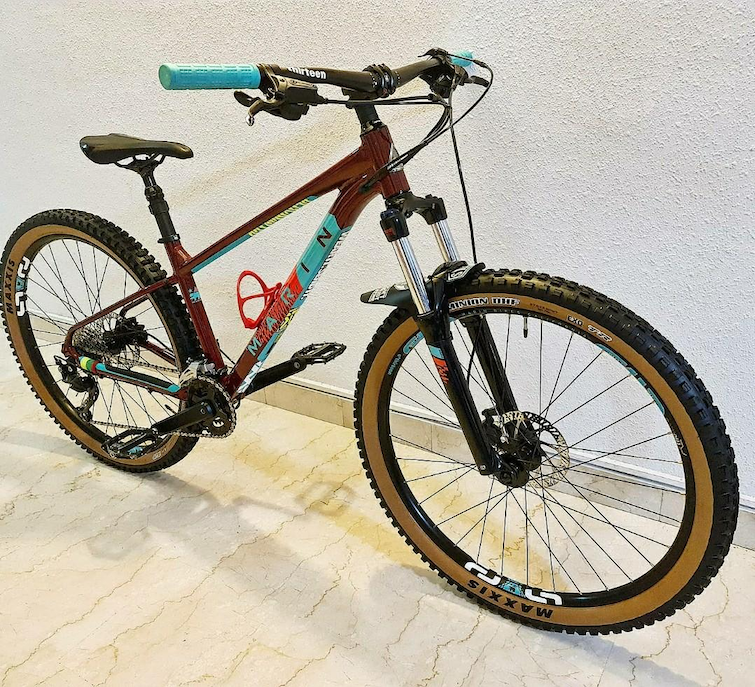 modified marin bobcat with dropper seatpost
