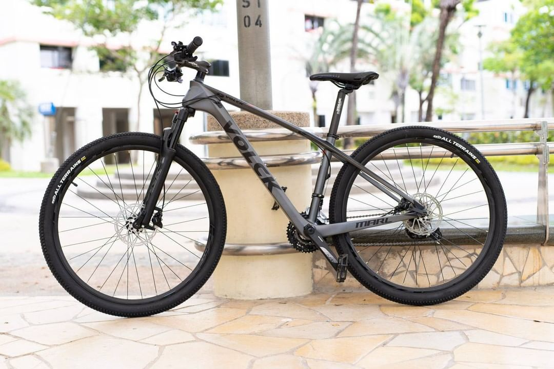 mountain bikes in singapore - carbon fibre volck marl 2