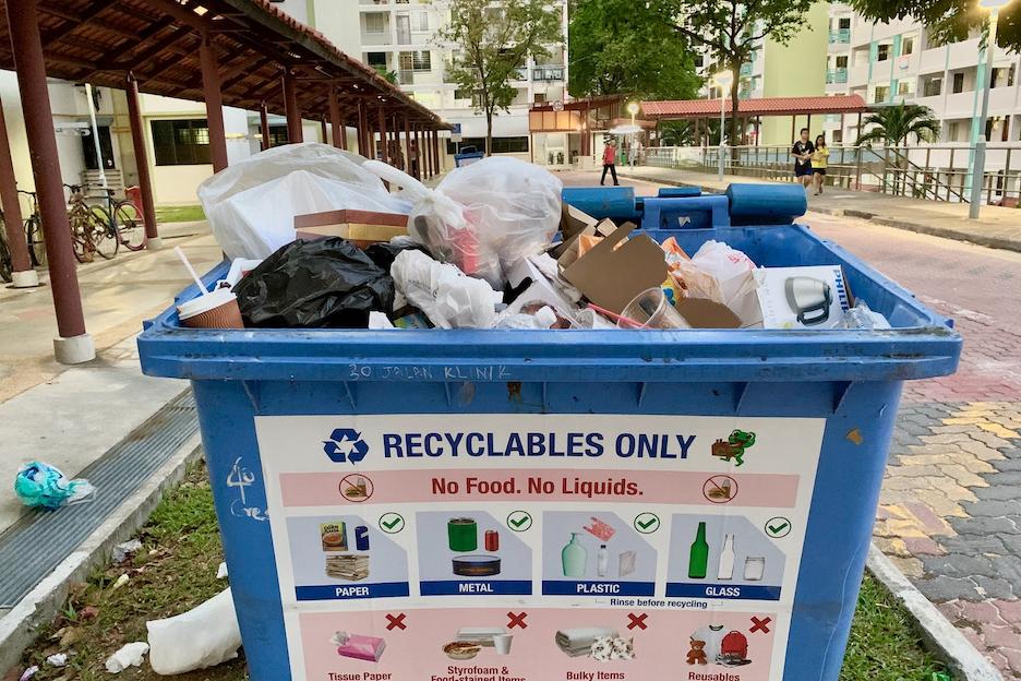 singapore recycling bin