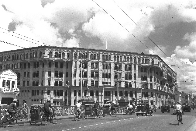 Old Hill Street Police Station, 1953