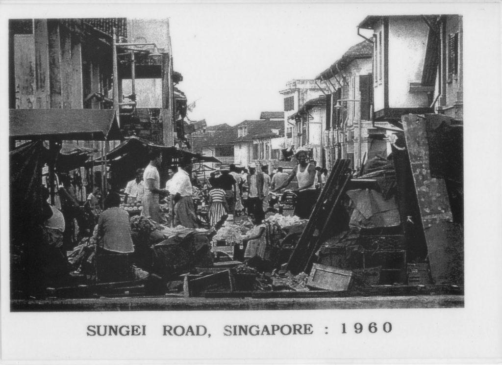 Sungei Road Thieves' Market in 1960s