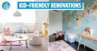 kid friendly renovations