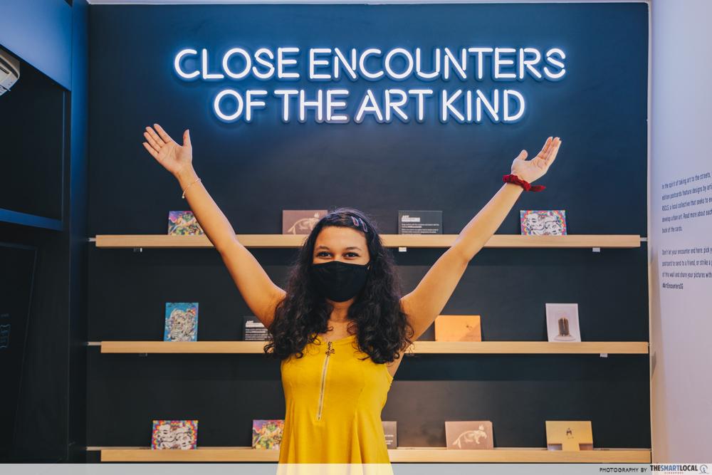Postcards at Bugis Art Encounters