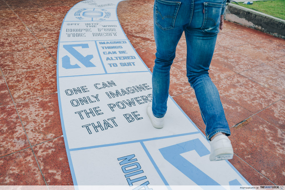 out of sight lawrence weiner at the arts house