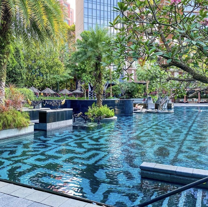 Best Condo Swimming Pools -OUE Twin Peaks