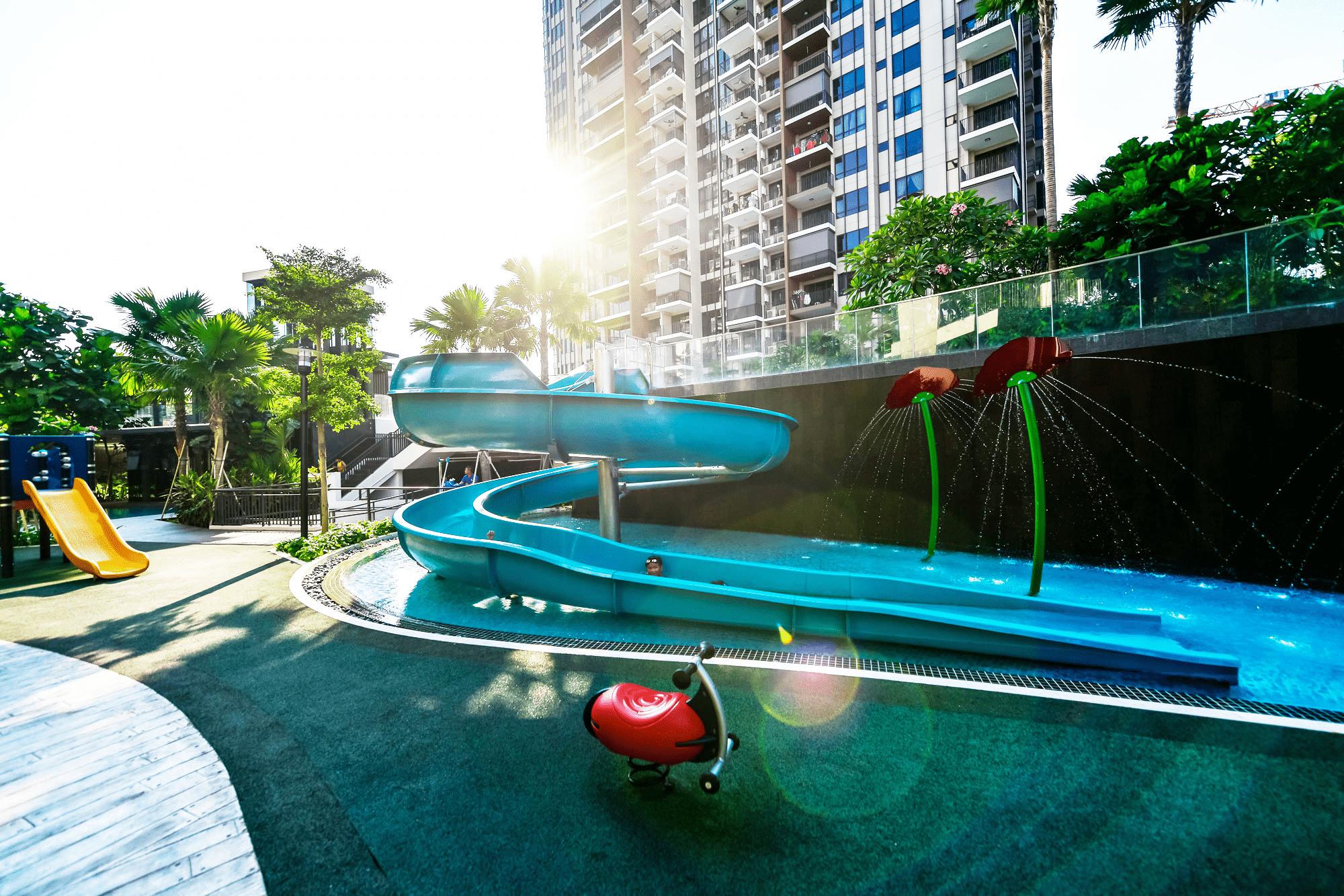 Best Condo Swimming Pools - Highpark residence slide