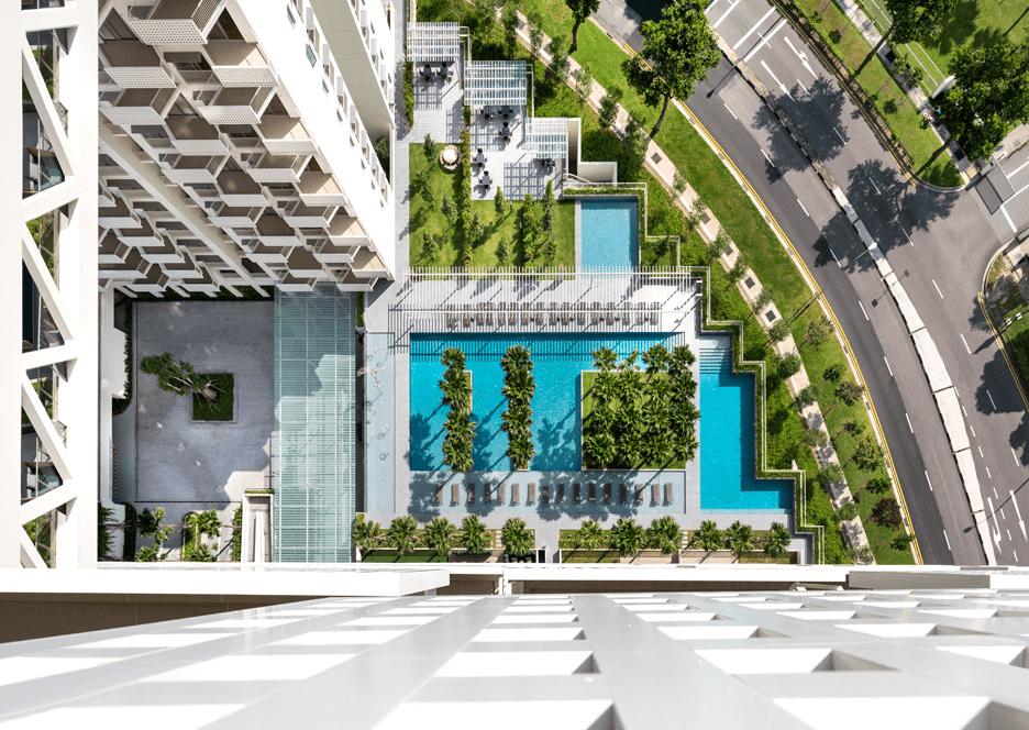 Best Condo Swimming Pools - The Sky Habitat