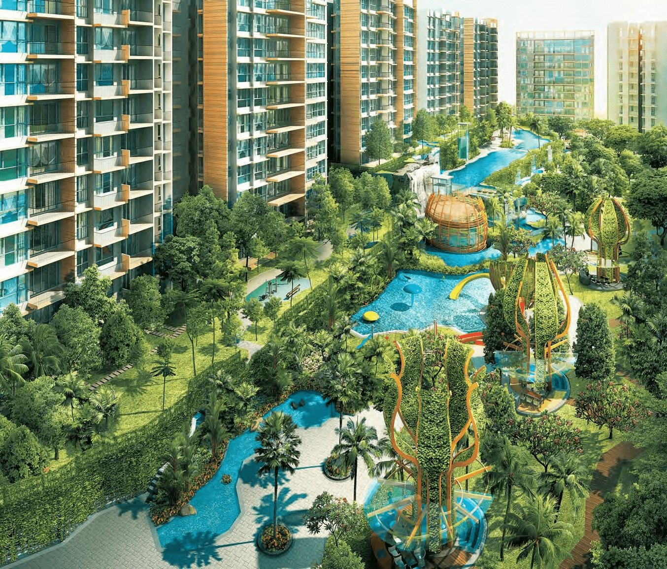 Best Condo Swimming Pools - The Glades