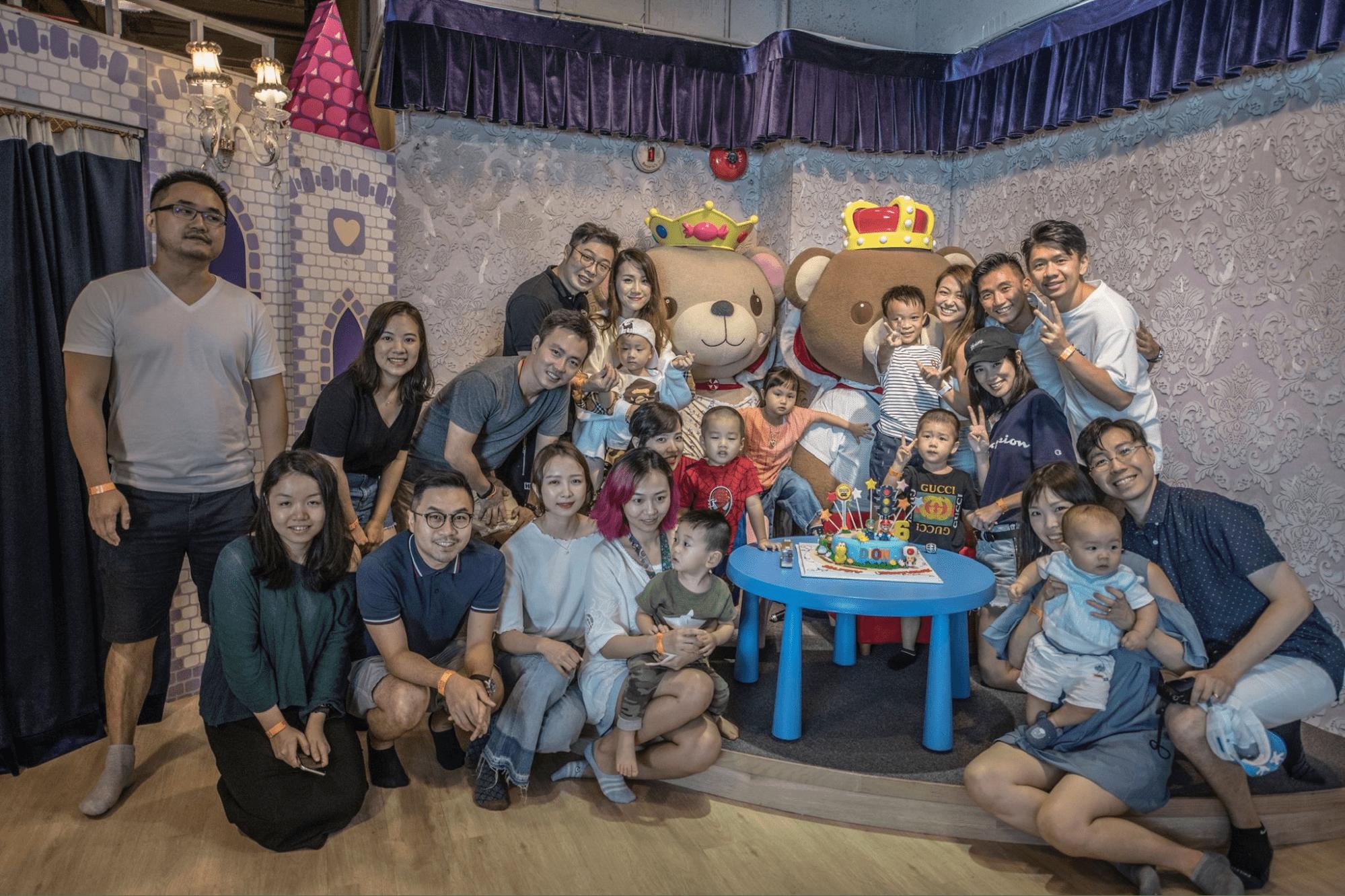cmlink - birthday party