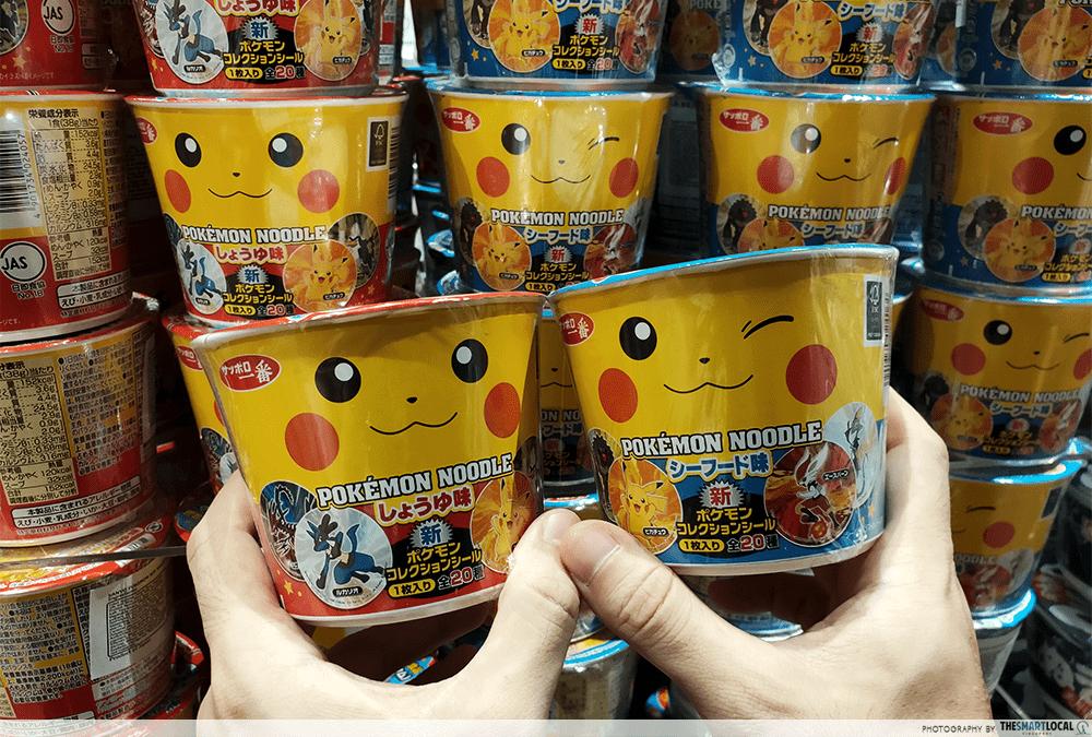 Pokemon Cup Noodles Pikachu