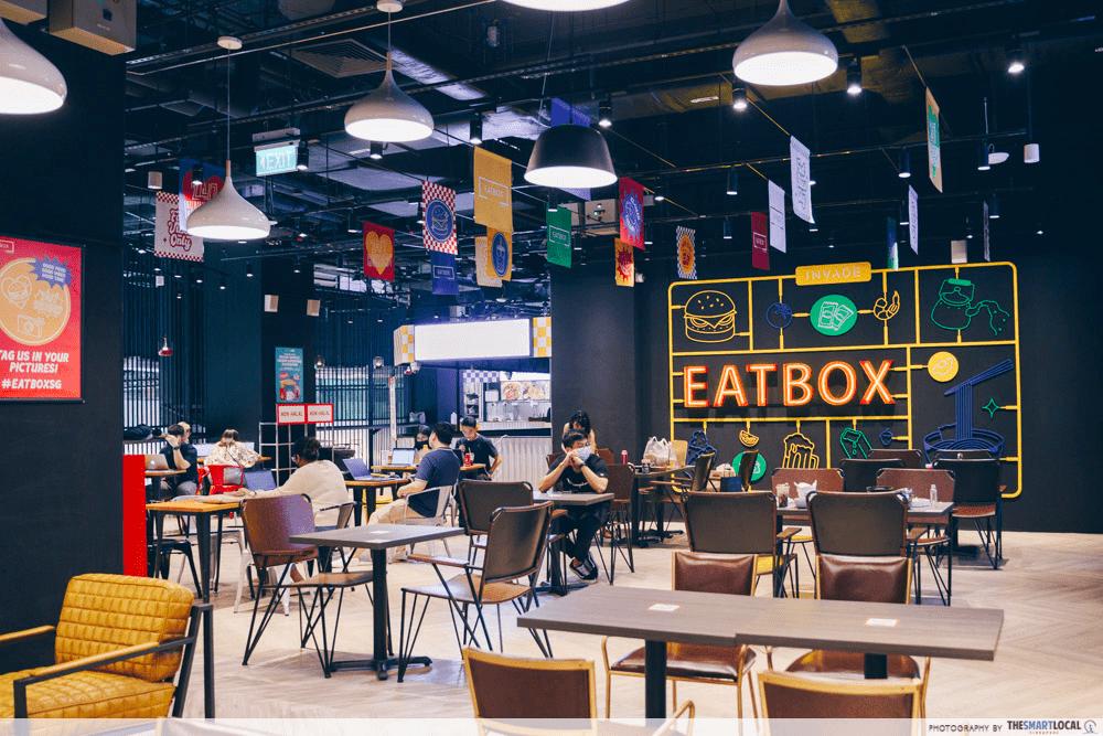 eatbox - seating
